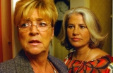 With dear Annie Kirkbride, much missed. Deidre and Denise, Coronation Street, ITV.