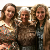 Ladies of The Deep Blue Sea at Chichester Festival Theatre l-r Helena Wilson, DB, Nancy Carroll